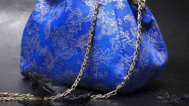 Женская сумочка на цепочке, синяя сумка на выпускной, маленькая сумочка для девушки