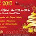 Convite para abertura do Natal 2017