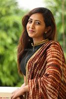 Lasya looks super cute in black choli Saree at Raja Meru Keka Press Meet ~  Exclusive 033.JPG