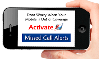 BSNL Mobile Missed Call Alert Service