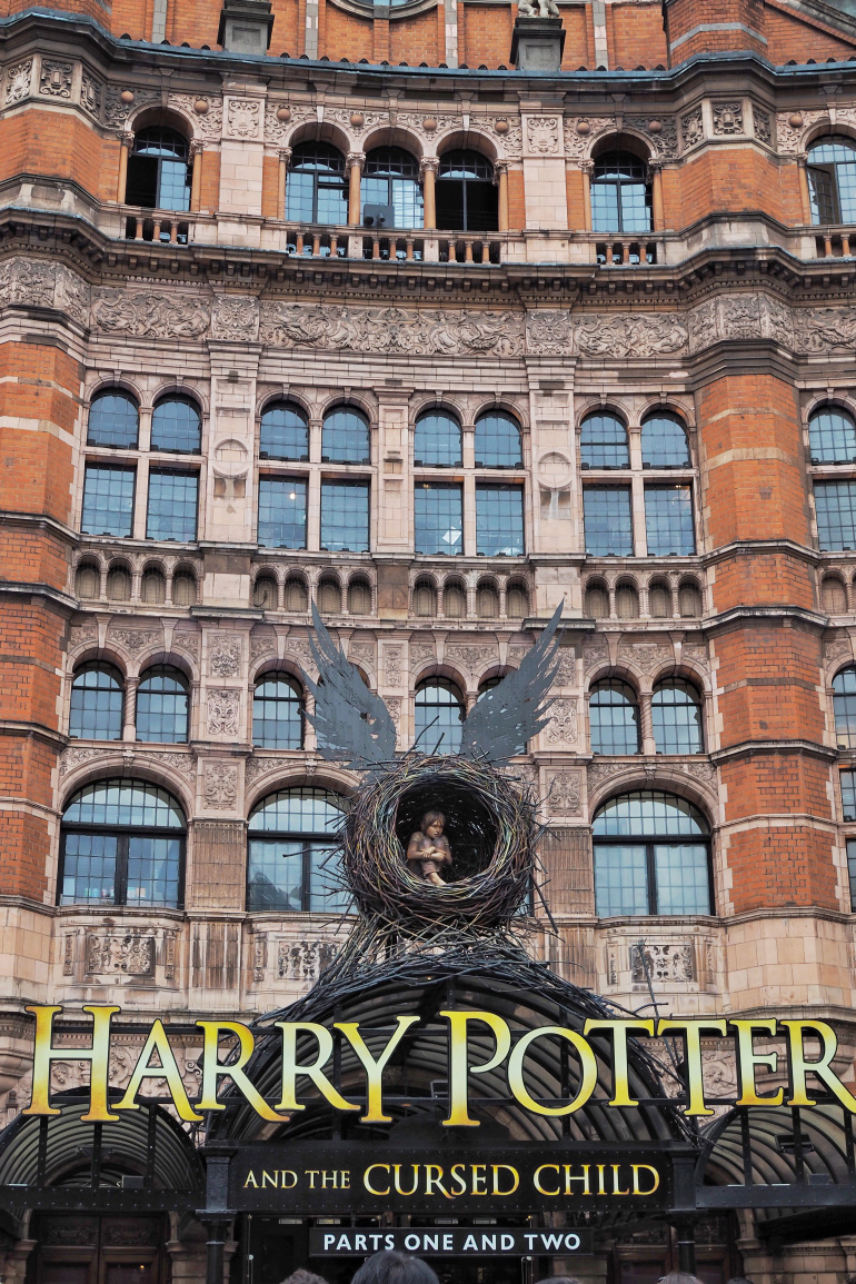 Harry Potter et l'enfant maudit à Londres