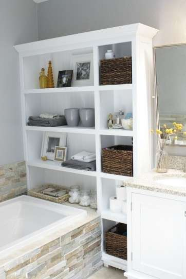 El baño, un buen lugar para almacenar en tu hogar