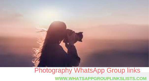 Join Photography WhatsApp Group Invite Links List
