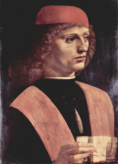 Da Vinci's Portrait of a Musician, of which Gaffurio is thought to have been the subject