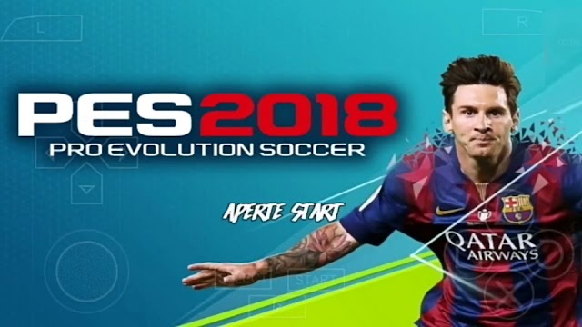 SAIU!! PES 2018 LITE 500MB FACES REALISTAS PARA PPSSPP ANDROID