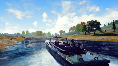 Быстроходный катер Playerunknown's Battlegrounds