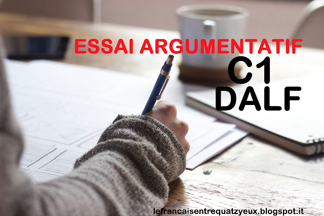essai argumentatif dalf c1 french exam