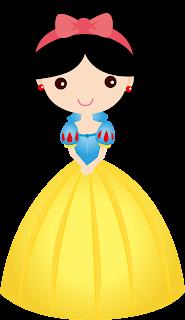 Clipart de Princesas Disney Bebés.
