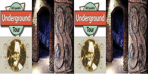 Bill Speidel's Underground Tour Schedule in Seattle