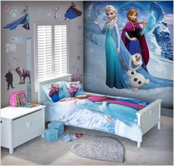 Habitaciones Infantiles Tematica Frozen Decoracion Del Hogar - Diseos-habitaciones-infantiles