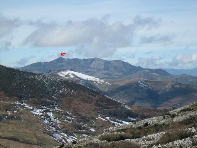 Rutas Montaña Asturias: Vista de Peña Manteca