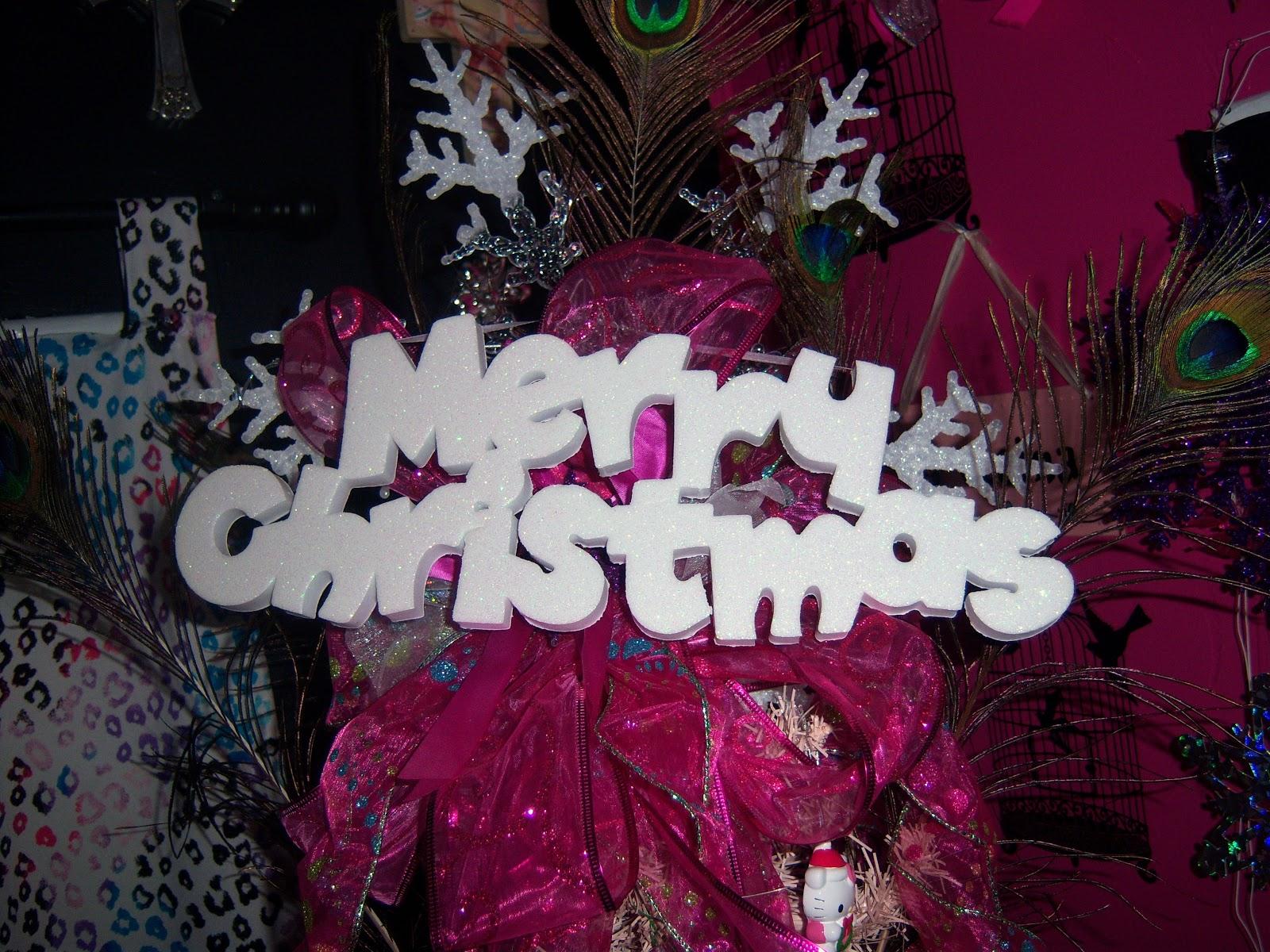 pinky merry christmas