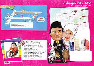 desain-undangan-pernikahan-karikatur