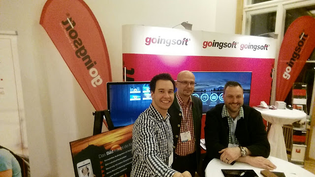 Das goingsoft sales-Team am ÖHV Hotelierskongress 2017