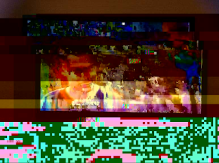Ricki Mountain Glitch Art