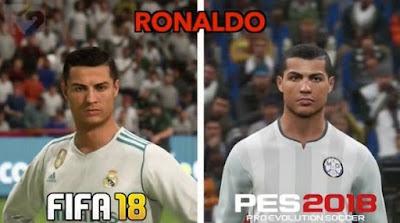 Llegaron FIFA Y PES 2018