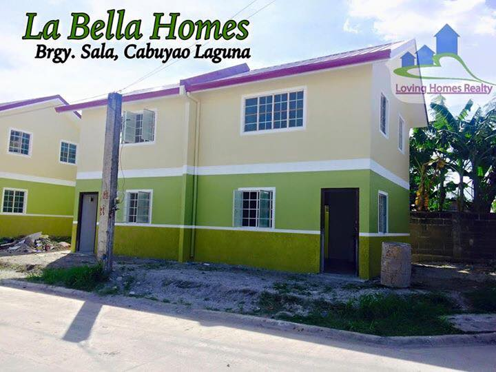La bella homes cabuyao laguna installment homes by for Louisiana home builders