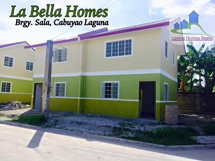 LA BELLA HOMES Cabuyao Laguna