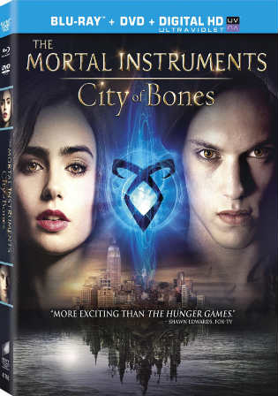 The Mortal Instruments City Of Bones 2013 BRRip 400MB Hindi Dual Audio 480p Watch Online Full Movie Download bolly4u