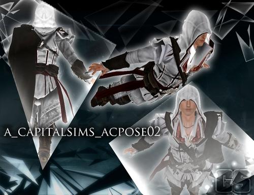 My Sims 3 Blog: Assassin's Creed Pose Set By Anita
