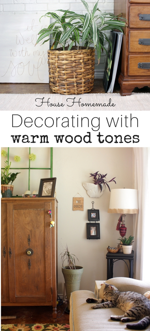 Decorating with warm wood tones | House Homemade