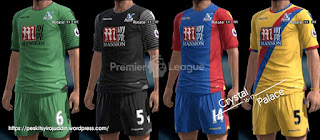 Kits Crystal Palace 2016-2017 Pes 2013 By Peskitsyiro