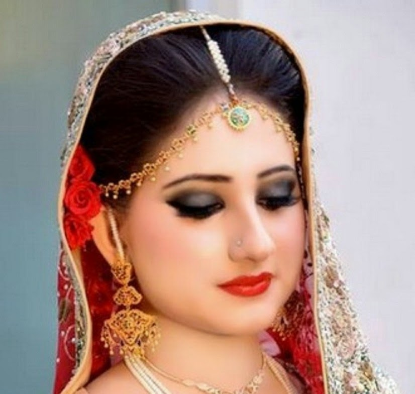 Dynamic Views Most Popluar And New Look Bridal Wedding Makeup 2014 - Bride-makeup-games