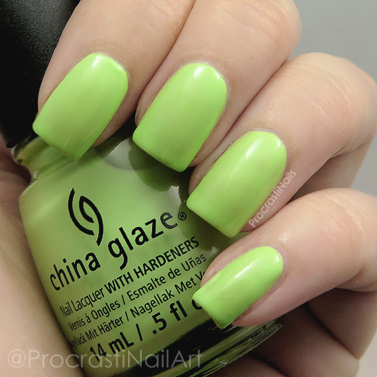 Swatch of China Glaze Be More Pacific