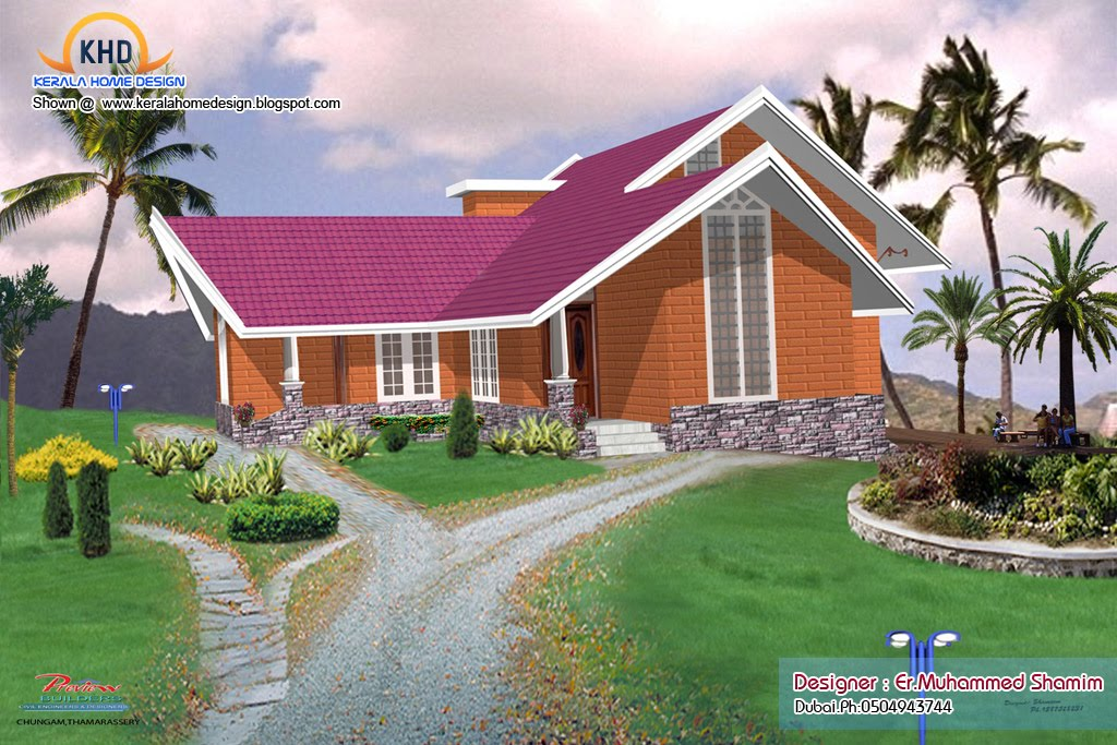 4 Beautiful Home Elevation Designs In 3d