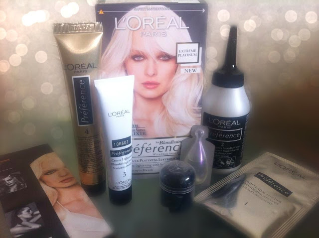 Loreal Extreme Platinum Hair Color