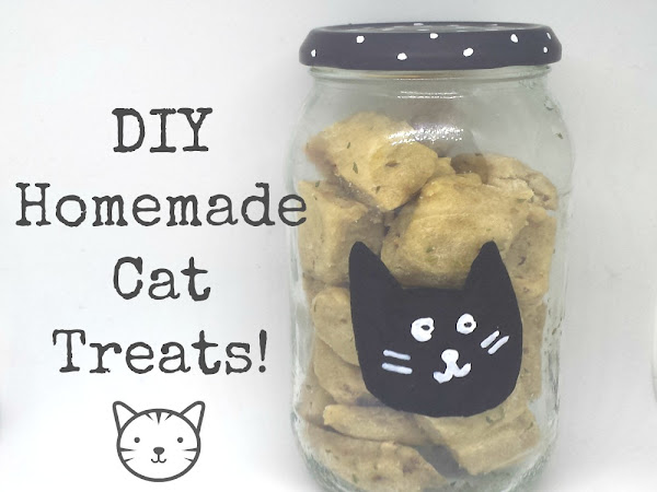 DIY Homemade Cat Treats! #LoveYourPetDay