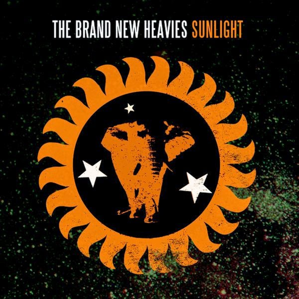 The Brand New Heavies - Sunlight - Single Cover