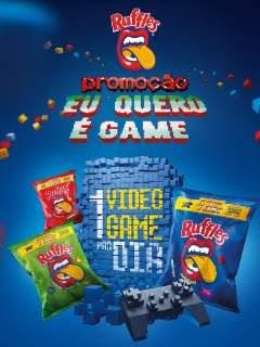 Promoção Eu Quero É Game Ruffles 2018