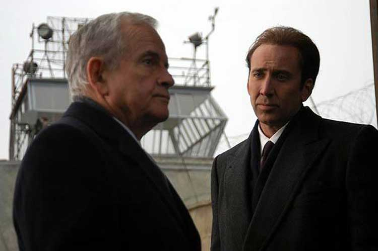 Nicholas Cage and Ian Holm star in Lord of War.