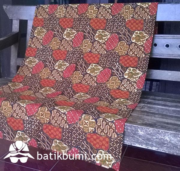 Kain Batik TULIS komb. CAP motif Sekarjagad
