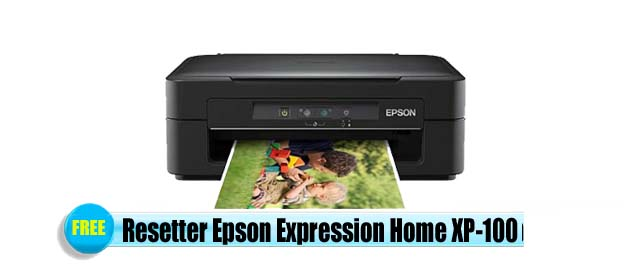 Epson Expression Home XP-100 Adjustment Program