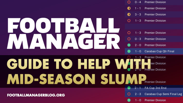 BLUFFERS FM GUIDE TO ARRESTING YOUR MID-SEASON SLUMP