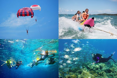 famous water sport in bali