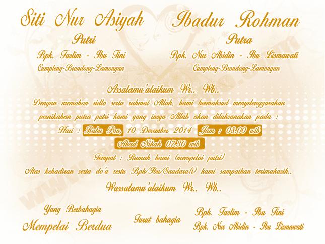 desain undangan pernikahan