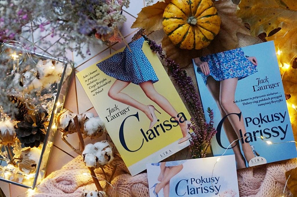 Clarissa i Pokusy Clarissy Jack Lauriger Wydawnictwo Lira książka kobieta