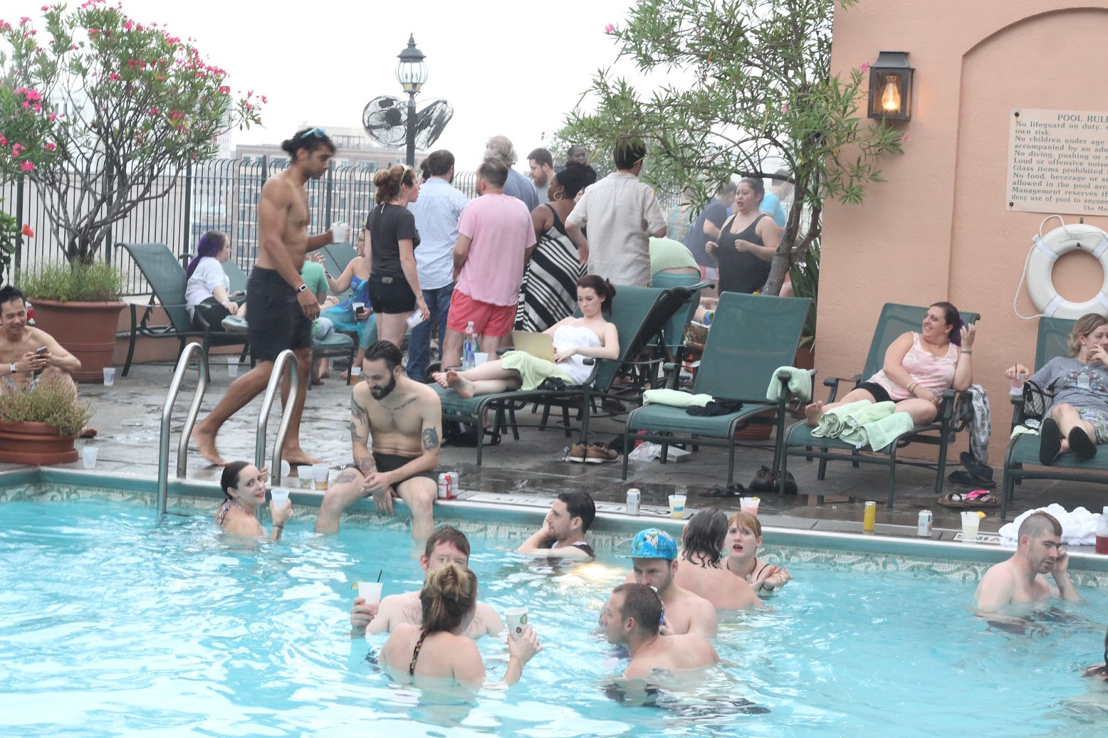 pool party nola