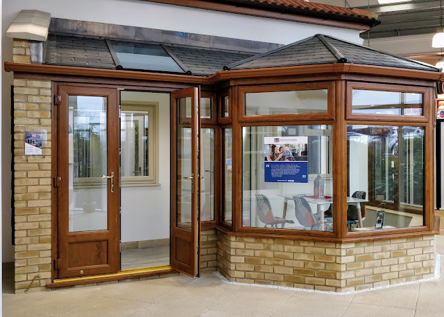 SEH BAC showroom, chelsmford - conservatory