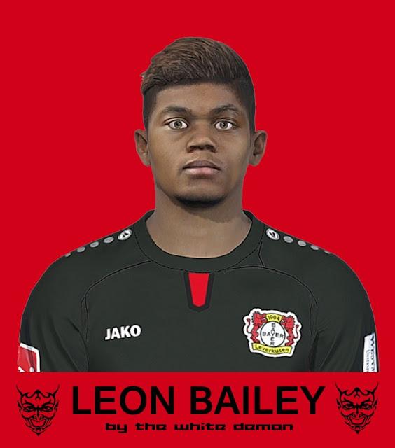 PES 2017 Leon Bailey Face