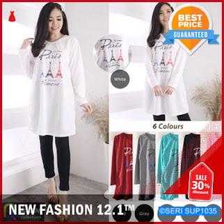 SUP1035K29 Kaos Tunik Sablon Wanita Bigsize Murah BMGShop