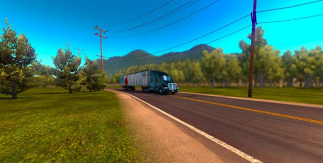 American Truck Simulator Map DLC Peru V.1.1 Beta for ATS Map Download MODs