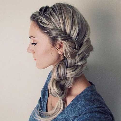 56 cute hairstyles for the girly girl in you hairstylo cute braided hairstyle for long hair urmus Images
