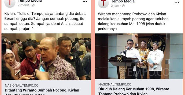 TELAK… Ditantang Wiranto Sumpah Pocong, Kivlan Zen: Itu Sumpah Setan, Kalau Berani Debat Terbuka
