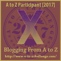 April A-Z challenge: X