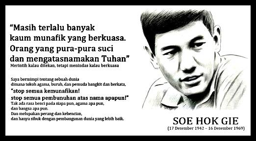 kata-kata bijak dan inspiratif Soe Hok Gie