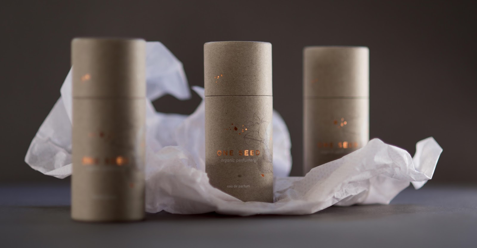 One Seed Organic Perfume on Packaging of the World
